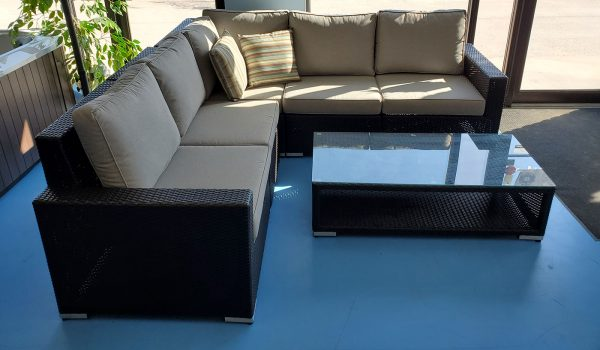 6pc Outdoor Sectional
