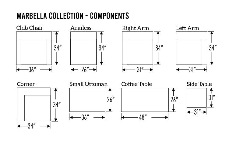marbella-components-measurements