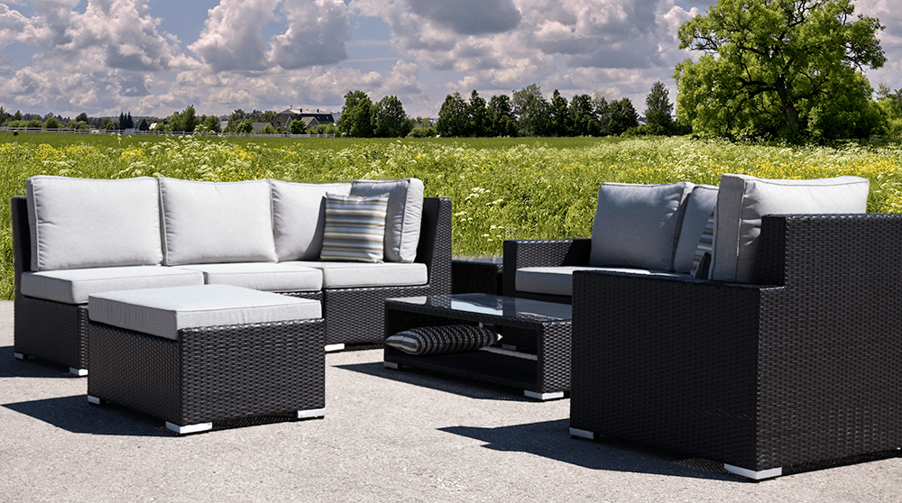 Marbella Outdoor Sectional - 9 PC