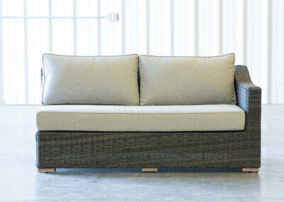 Luxury Left Arm Long Sofa